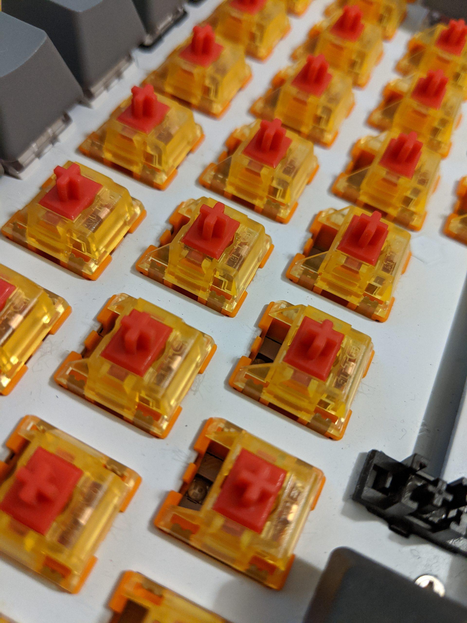 TTC Gold V2 - Red switches.