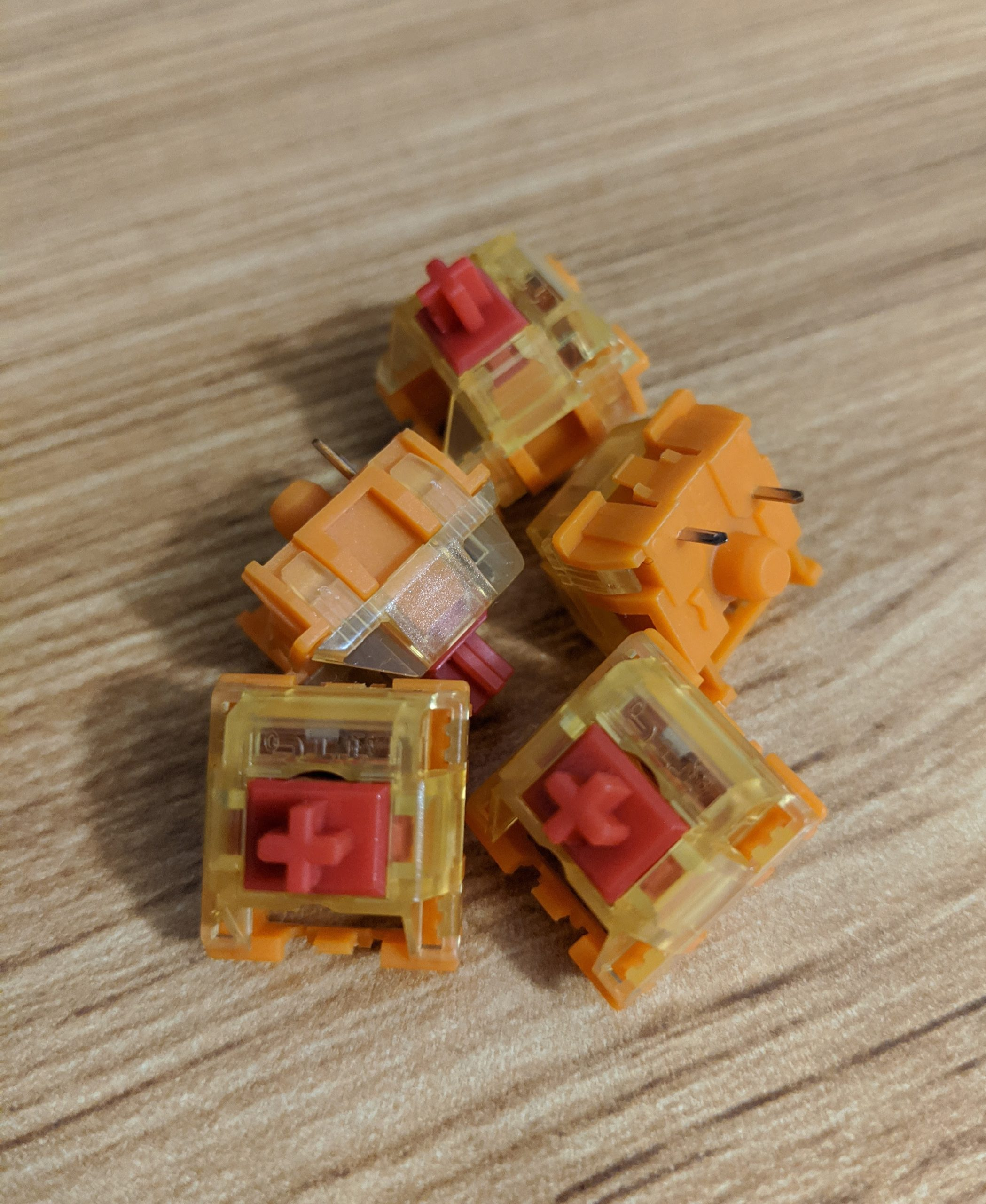 TTC Gold V2 Red switches