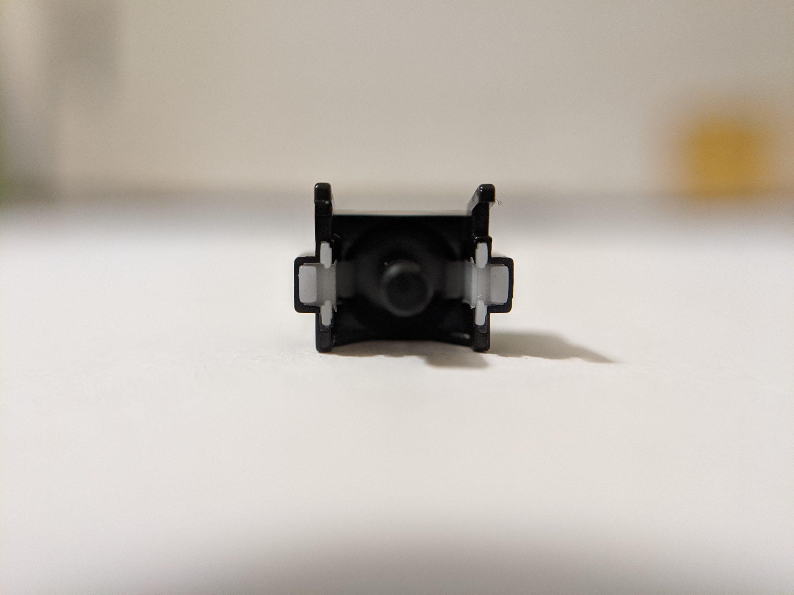 Gateron Silent Black Ink stem bottom profile