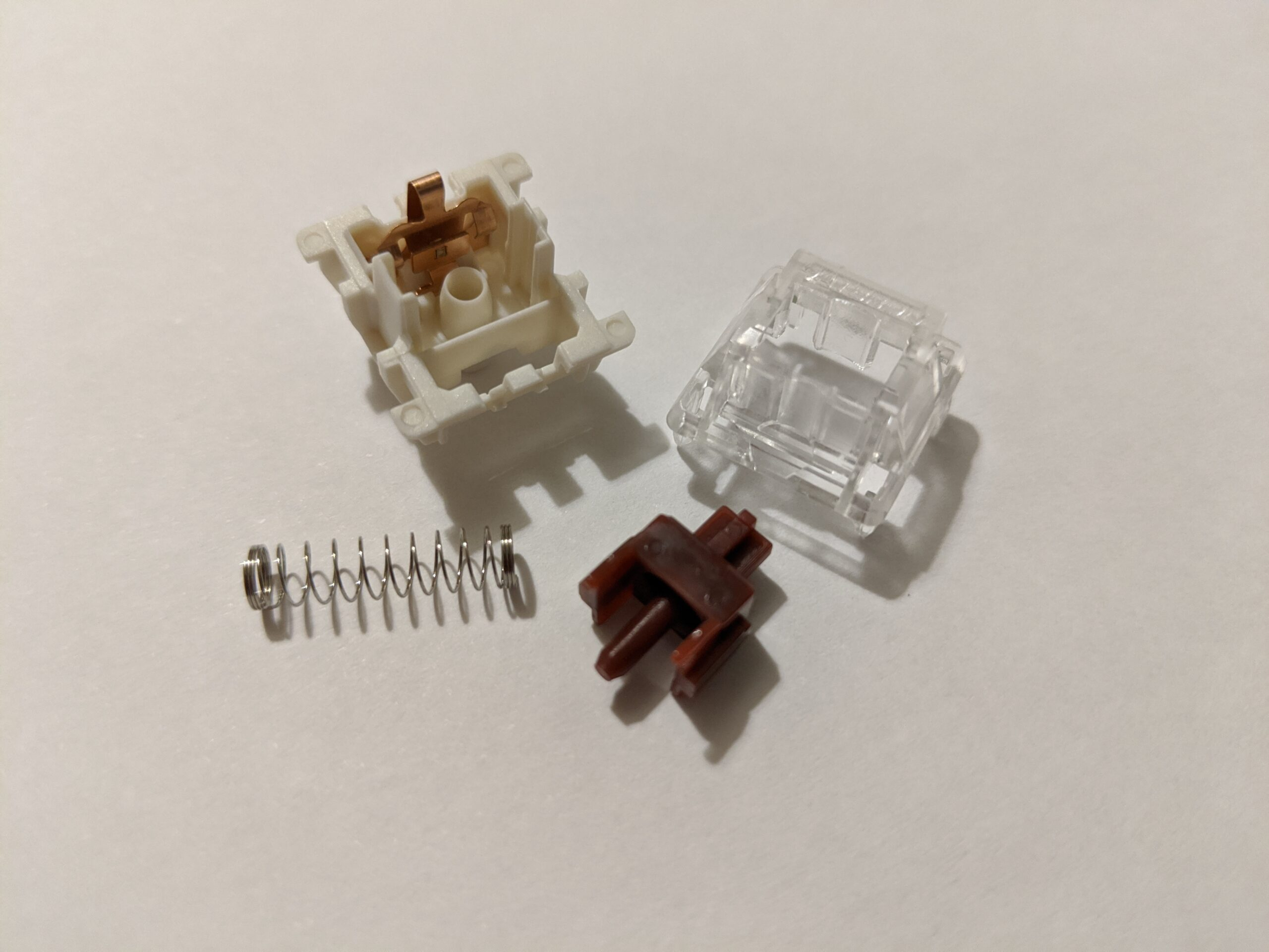 Gateron Brown switch disassembled