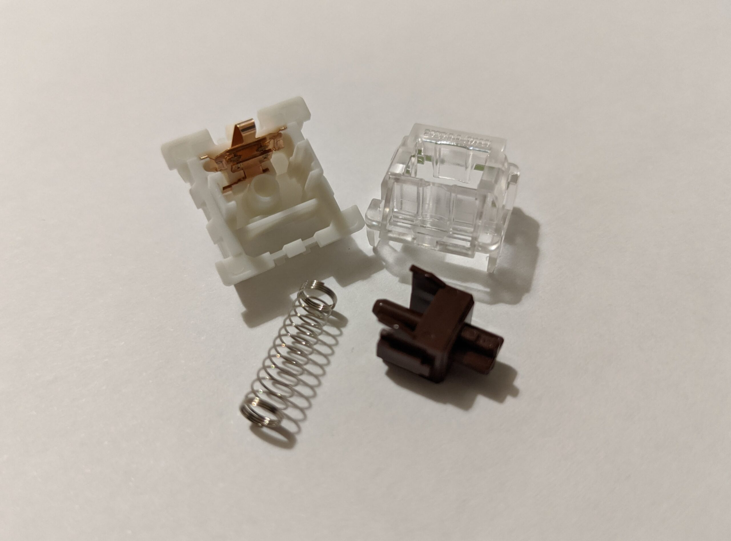 Outemu Brown switch disassembled