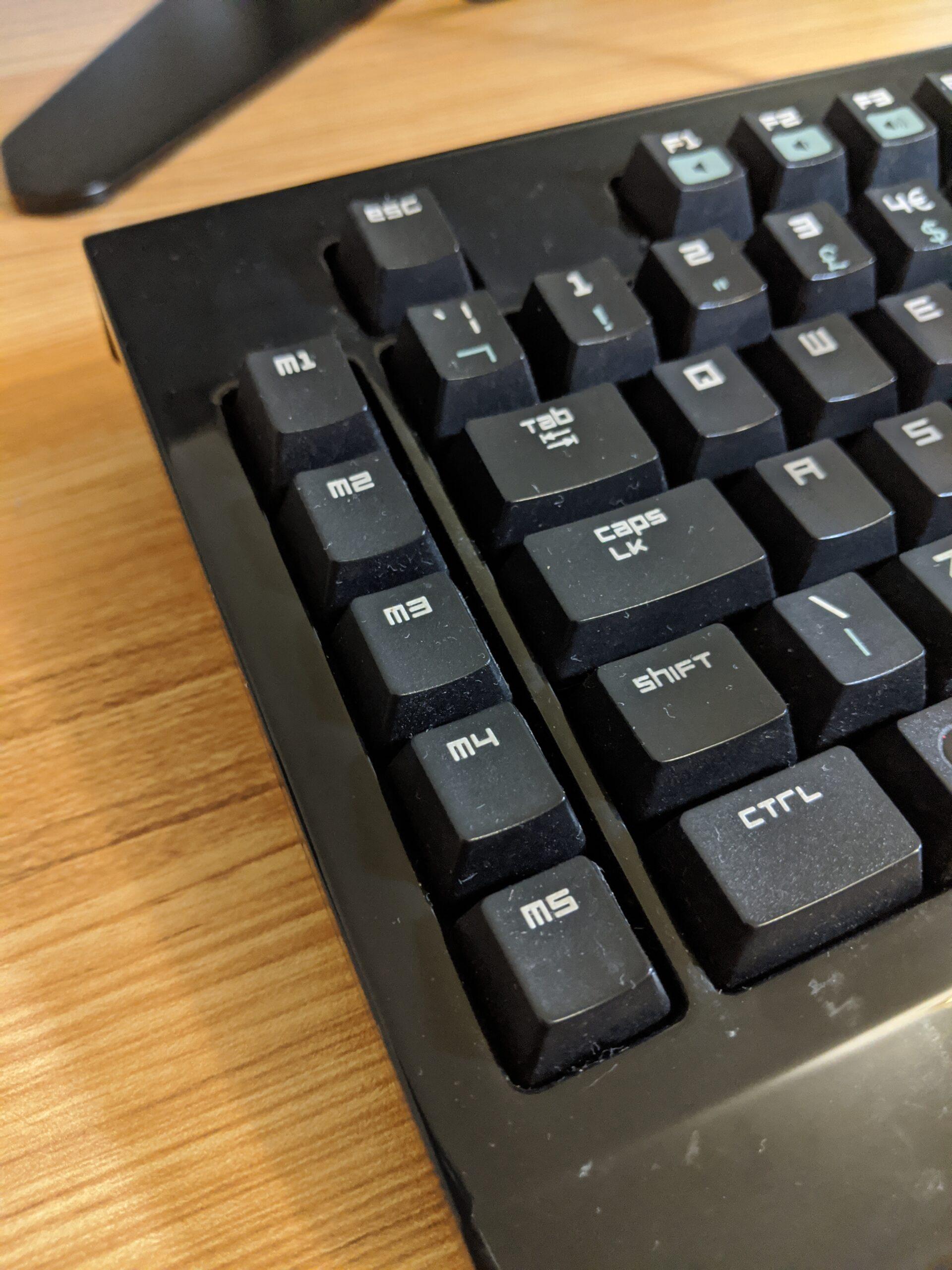 Razer BlackWidow Macro keys