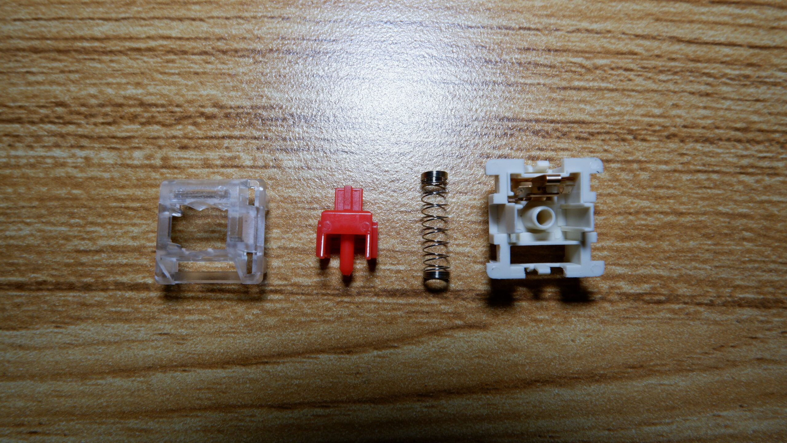 Greetech Red switches disassembled