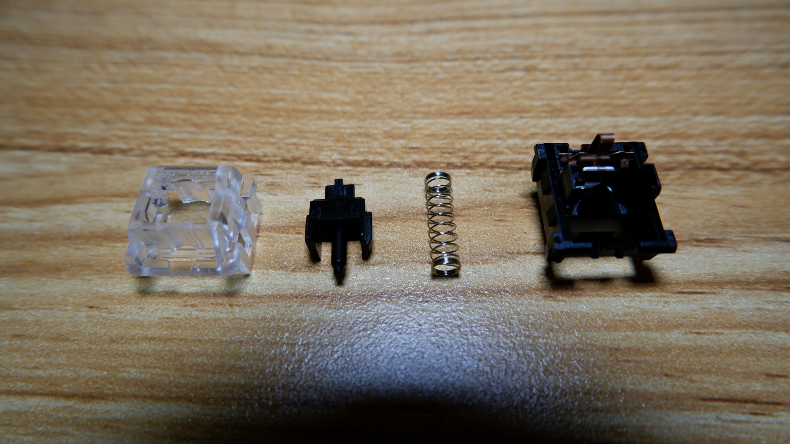 Kailh Black switch disassembled